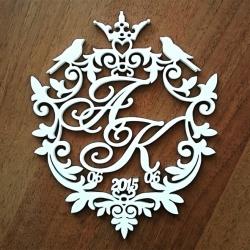 Монограмма, герб