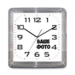 Часы на магните квадратные